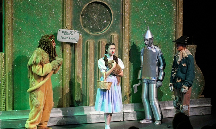 """The Wizard of Oz"" - Tulsa Little Theatre: ""The Wizard of Oz"" at Tulsa Little Theatre on April 24–26 (Up to 50% Off)"