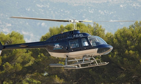 Une balade en hélicoptère pour les amoureux de haute voltige
