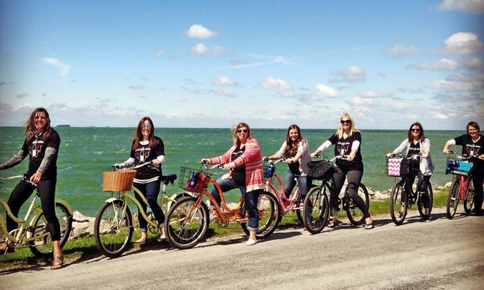 Explore Pelee - Pelee Island: Two-Hour Biking and Wine Tour for Two or Four from Explore Pelee (Up to 47% Off)