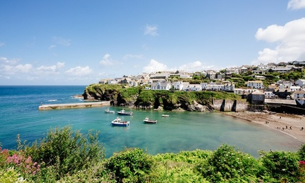 Cornwall: 13 Nights with Breakfast and Optional Dinner for Two at The Slipway Hotel