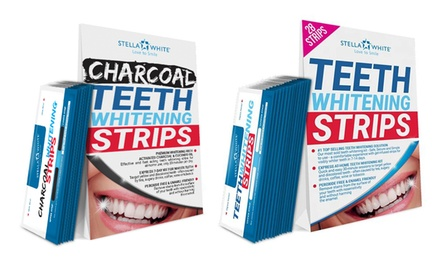Tiras Blanqueadoras de dientes de Stella White