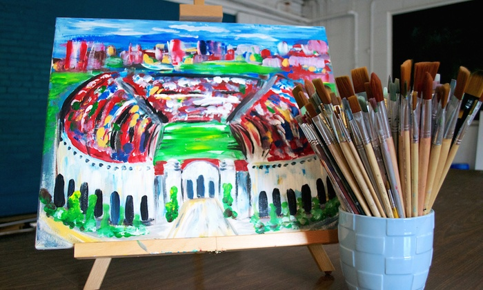 Studio 614 - Columbus: $23 for $45 Worth of Art Classes Studio 614
