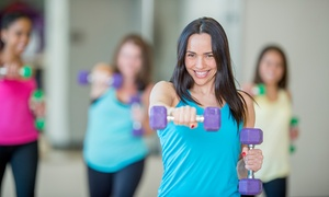 Zumba Experience: Five Zumba Toning Classes for One or Two with Zumba Experience (Up to 64% Off)