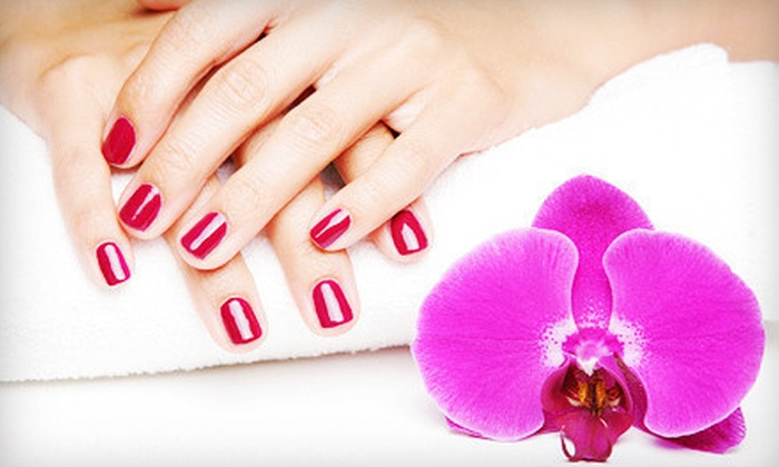 The Finished Look Salon & Spa - West Akron: Shellac Gel Manicure, Chocolate Spa Pedicure, or Mani-Pedi at The Finished Look Salon & Spa (Up to 57% Off)
