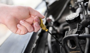 Oil Changes Or Engine Diagnostic At Auto Village Center (up To 54% Off). Five Options Available.
