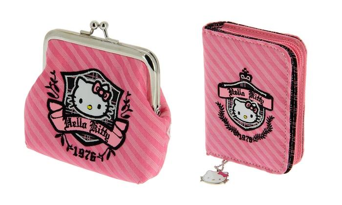 ae0deb706 Hello Kitty Purse or Wallet   Groupon