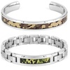 Crucible Men's Stainless Steel Camouflage Jewelry