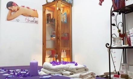 Masaje corporal con opción a envoltura a elegir o peeling facial desde 16,95 € en Toc Final Perruqueria y Estética
