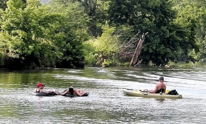 Shenandoah River Adventures - Shenandoah: All-Day Tube, Kayak, or Canoe Rentals for Two from Shenandoah River Adventures (50% Off)
