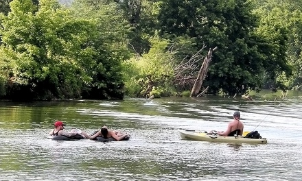All-Day Tube, Kayak, or Canoe Rentals for Two from Shenandoah River Adventures (50% Off)