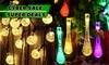 LED Solar-Powered String Lights