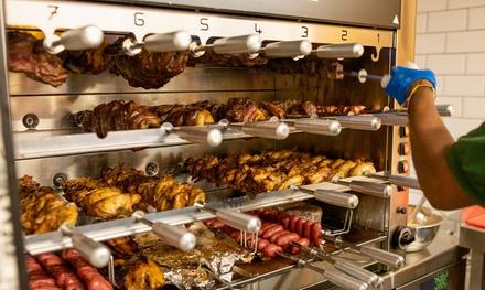 Buffet de rodizio para 2 o 4 personas con enlasada, guarnición y bebida desde 34,99 € en Vila Brasil Ibiza