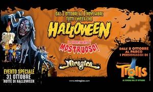 Miragica: Halloween: Ingresso al parco divertimenti Miragica, Terra di Giganti