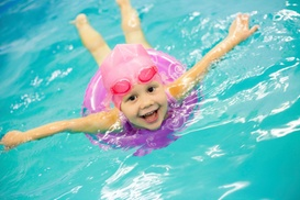 Fine Tune Tutoring: Four Weeks of Private Swim Lessons from Fine Tune Tutoring (45% Off)