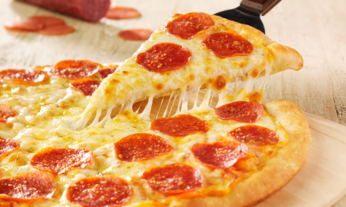 Gatti's Pizza - Multiple Locations: $14 for Two Large One-Topping Pizzas at Gatti's Pizza ($23.98 Value)