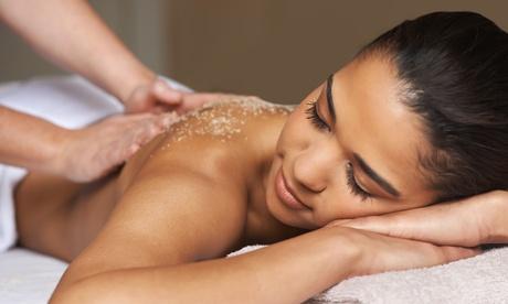 1 o 3 sesiones de peeling corporal con masaje desde 19,90 € en Mandarina Estètic