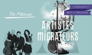 """Trio Fibonacci: C$22 for 1 Admission to the """"Artistes migrateurs"""" Concert by the Trio Fibonacci on Saturday, March 4, 2017 (C$40 Value)"""
