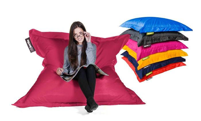 pouf g ant xl big bertha groupon shopping. Black Bedroom Furniture Sets. Home Design Ideas