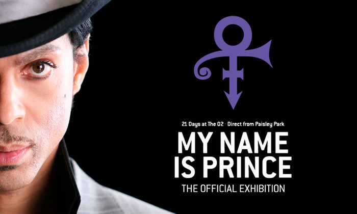 Prince at the O2 - O2 Arena: My Name Is Prince - The Official Exhibition, 26 October –7 January 2018 at The O2, London