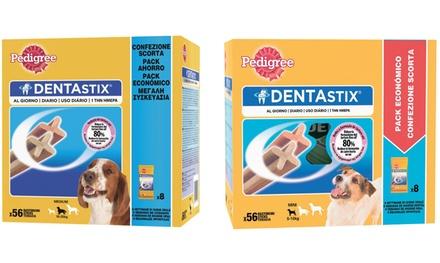 1 o 2 confezioni di Pedigree Dentastix disponibili in 2 modelli