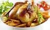 Pollo asado o menú a recoger