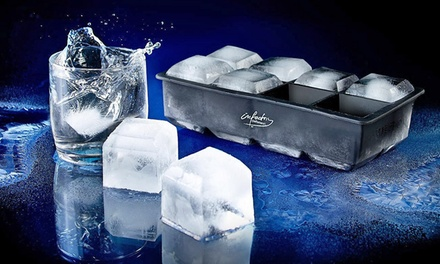 Three Ice Cube or Ice Shot Glass Moulds