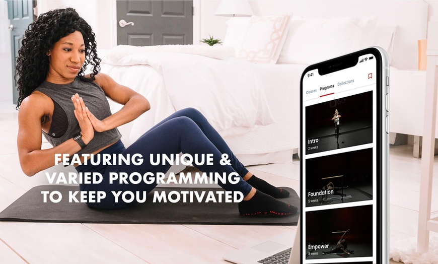 Online Fitness Classes - Pure Barre GO On Demand | Groupon