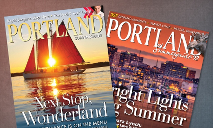 "Portland Magazine: One- or Two-Year Subscription to ""Portland Magazine"" (Up to 56% Off)"