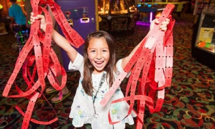 Two-Topping Pizza and Soda with Arcade Credit or Golf & Moonstone Mine for 4 at Great Wolf Lodge (Up to 59% Off)