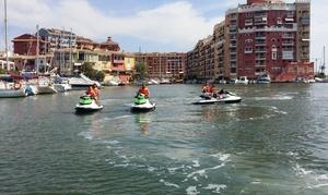 Jetski Valencia: Excursión en moto acuática guiada de 30 o 60 minutos para 1 o 2 personas desde 59 € en Jetski Valencia