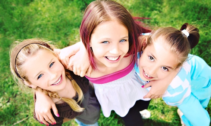 Feiler Dental Associates - Multiple Locations: Kids' Basic Exam with Cleaning and X-rays or Kids' Cavity-Protection Package at Feiler Dental Associates (Up to 82% Off)