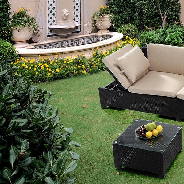 Salon de jardin modulable Burano, coloris au choix à 449,90€, livraison  offerte (55% de réduction)