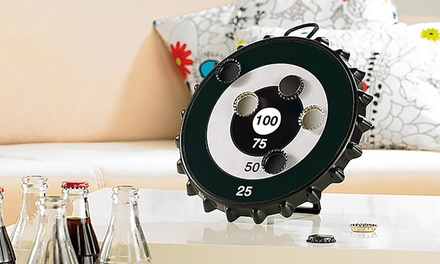 Magnetische Zielscheibe in origineller Kronkorken-Form : 17,99 €