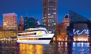 "Spirit of Baltimore: Three-Hour Dinner Cruise for One on ""Spirit of Baltimore"" (Up to 38% Off). Three Options Available."
