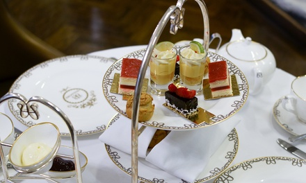 5* Champagne or FreeFlowing Champagne Afternoon Tea for Up to Four at 5* The Waldorf Hilton