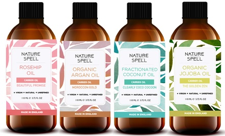 Nature Spell Pure Oils For Body, Face and Hair with Dropper