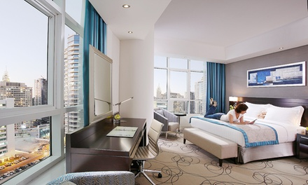 Dubai: 1 or 3 Nights For 2 With Breakfast and Leisure Access at the 4* Auris Inn Al Muhanna Hotel