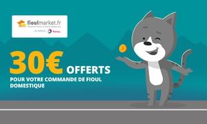30 € offerts pour toute commande de Fioul