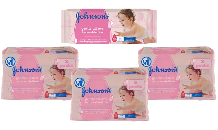 johnson salviettine  Salviettine Johnson Baby | Groupon