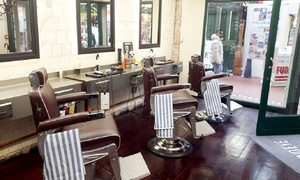 Blindeye Barbers: Gents Haircut with Refreshment and Optional Beard Trim at Blindeye Barbers (Up to 52% Off*)