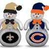 NFL Light-Up Tabletop Snowmen