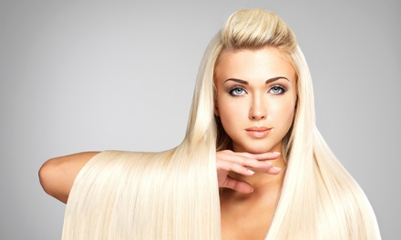 Haircut with Shampoo and Style from Hello Gorgeous Hair Extensions && Full Beauty Bar (60% Off)