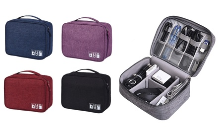 Charging Cable Travel Organiser Bag: One ($16) or Two ($25)