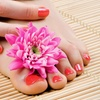 55% Off Manicure and Pedicure