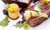't Ridderhof - Zedelgem: Menu à 3 plats avec scampi ou steak à partir de 39.99 € à 't Ridderhof in Veldegem