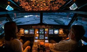 Flight Simulations Dresden: 30, 60 oder 90 Min. A320 selber fliegen im Flugsimulator bei Flight Simulations Dresden (bis zu 44% sparen*)