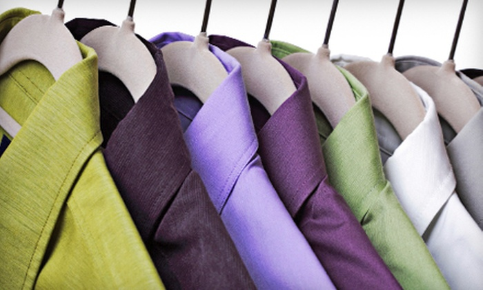 Lapels Dry Cleaning - Multiple Locations: Dry-Cleaning Services at Lapels Dry Cleaning in Brick or Freehold (Half Off). Two Options Available.
