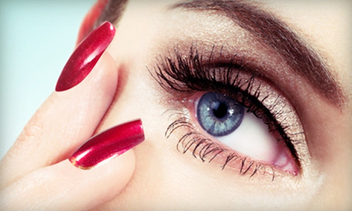 Permanent Great Looks Salon & Spa - Alton: Partial or Full Set of Eyelash Extensions at Permanent Great Looks Salon & Spa (Up to 56% Off)