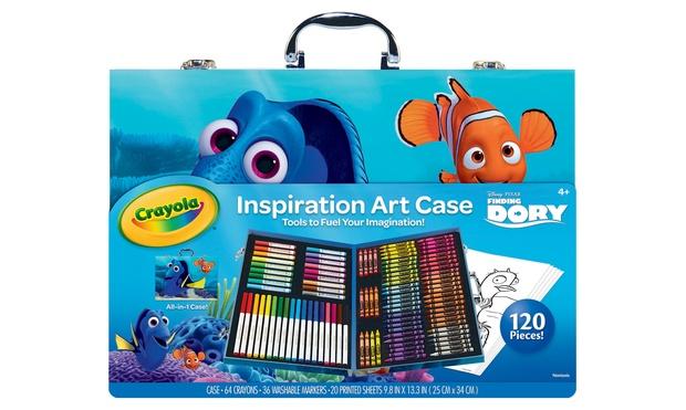 Crayola Dory Art Or Stamper Kits Groupon Goods