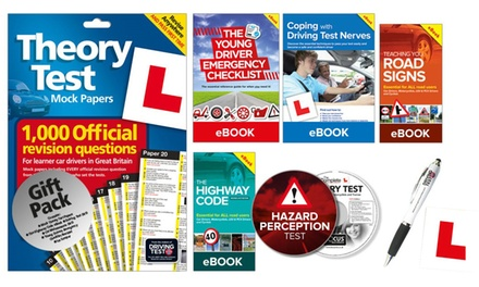 "The Learner Driver Gift Pack: Theory Test Papers and Driving Test PC/DVD with Optional ""L"" Plates"